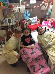 Taylor Swift conoció a Isabella McCune, de 8 años, en mayo