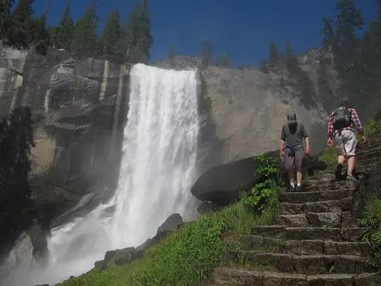 Upper Yosemite Falls Wallpaper Hope Fades For Teen Swept Over Yosemite Waterfall