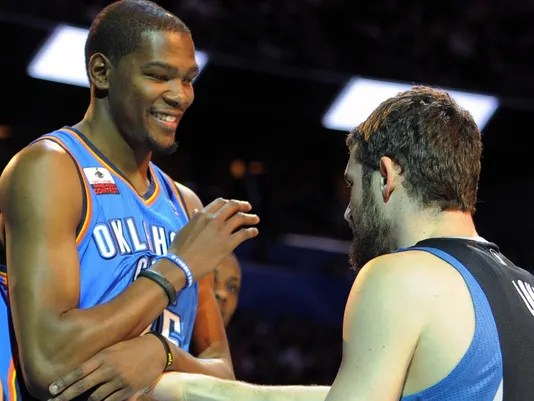 Kevin Love And Durant Commit To Team USA