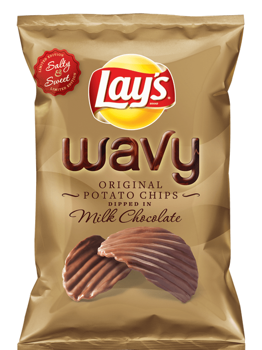Lay S To Roll Out Chocolate Covered Potato Chip