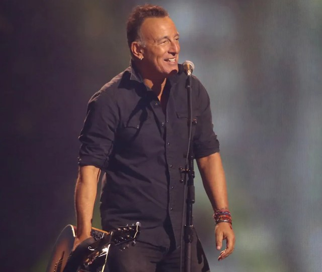 Bruce Springsteen Surprises Crowd At Billy Joels Th Madison Square Garden Concert