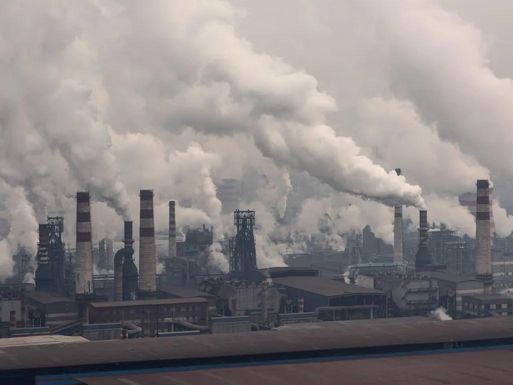 air pollution 93 percent