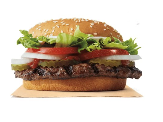 The Whopper from Burger King