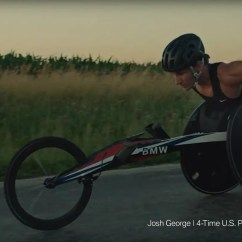 Wheelchair Olympics Rent Chairs And Tables Bmw 39s New Tv Ad Shows Its Racing Paralympic