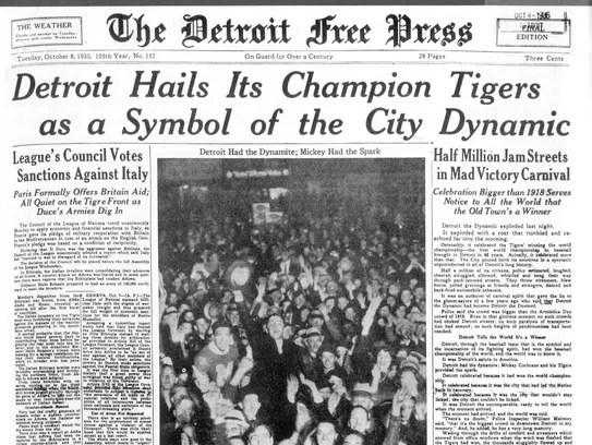 It's 'Champions Day' in Detroit! A toast to Detroit sports history