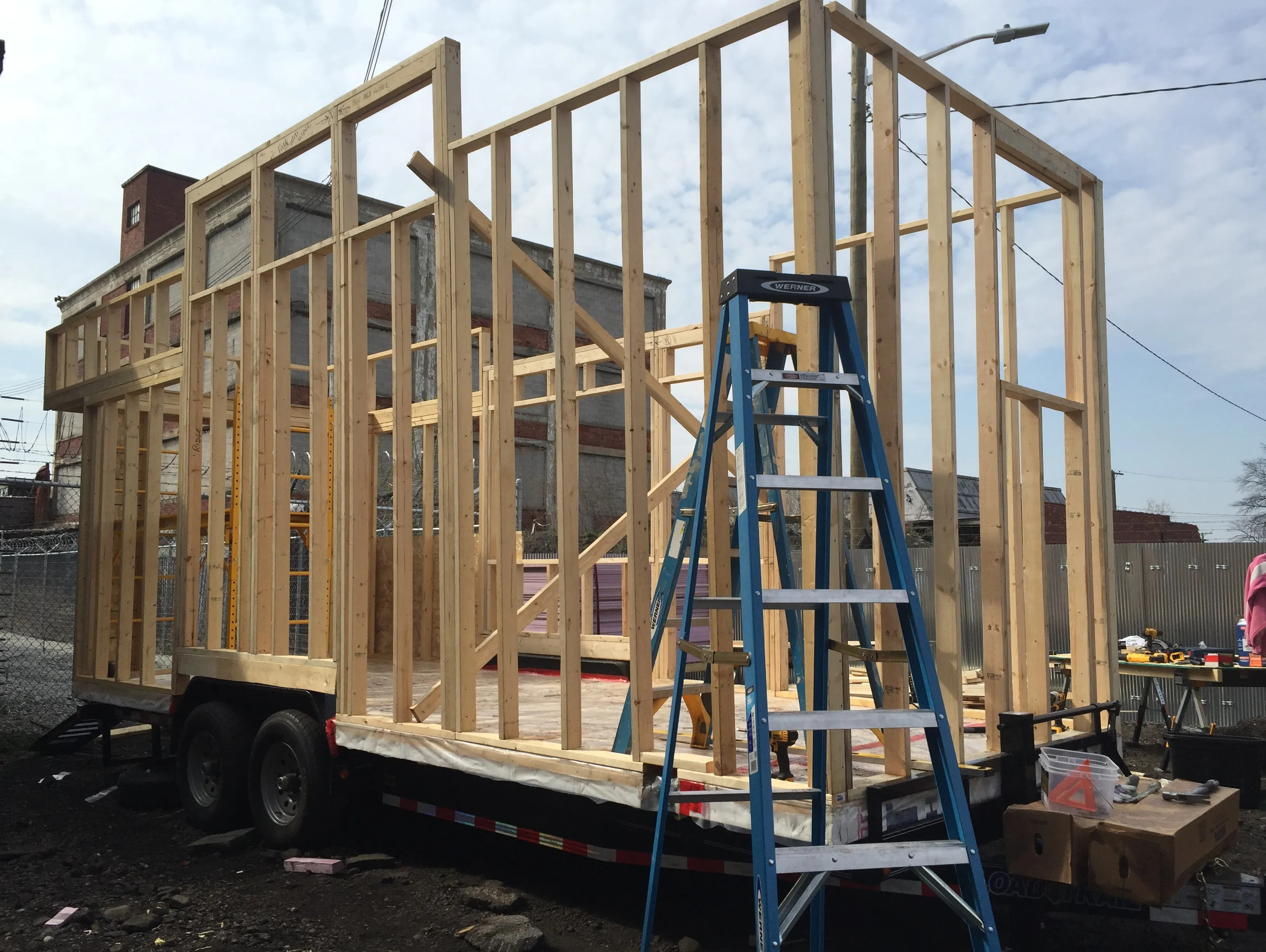Tiny House Big Dreams Building A Home From Scratch