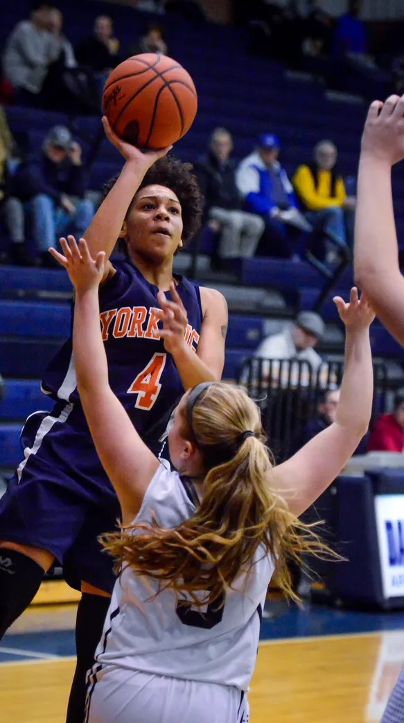 York High's Madey-Zania Redman has been nominated to