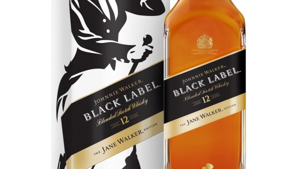Johnnie Walker Whisky Puts Woman Limited Edition Black