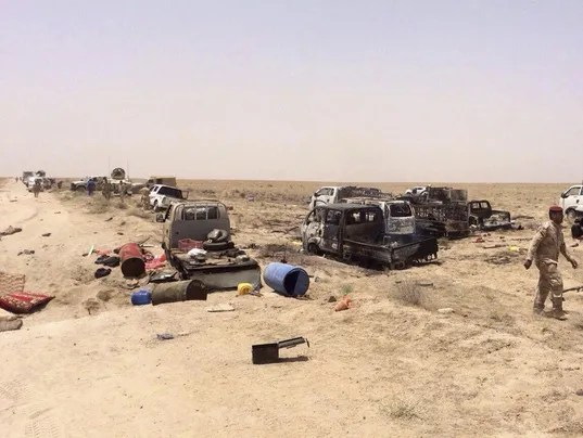 Iraq Fallujah Islamic State militants