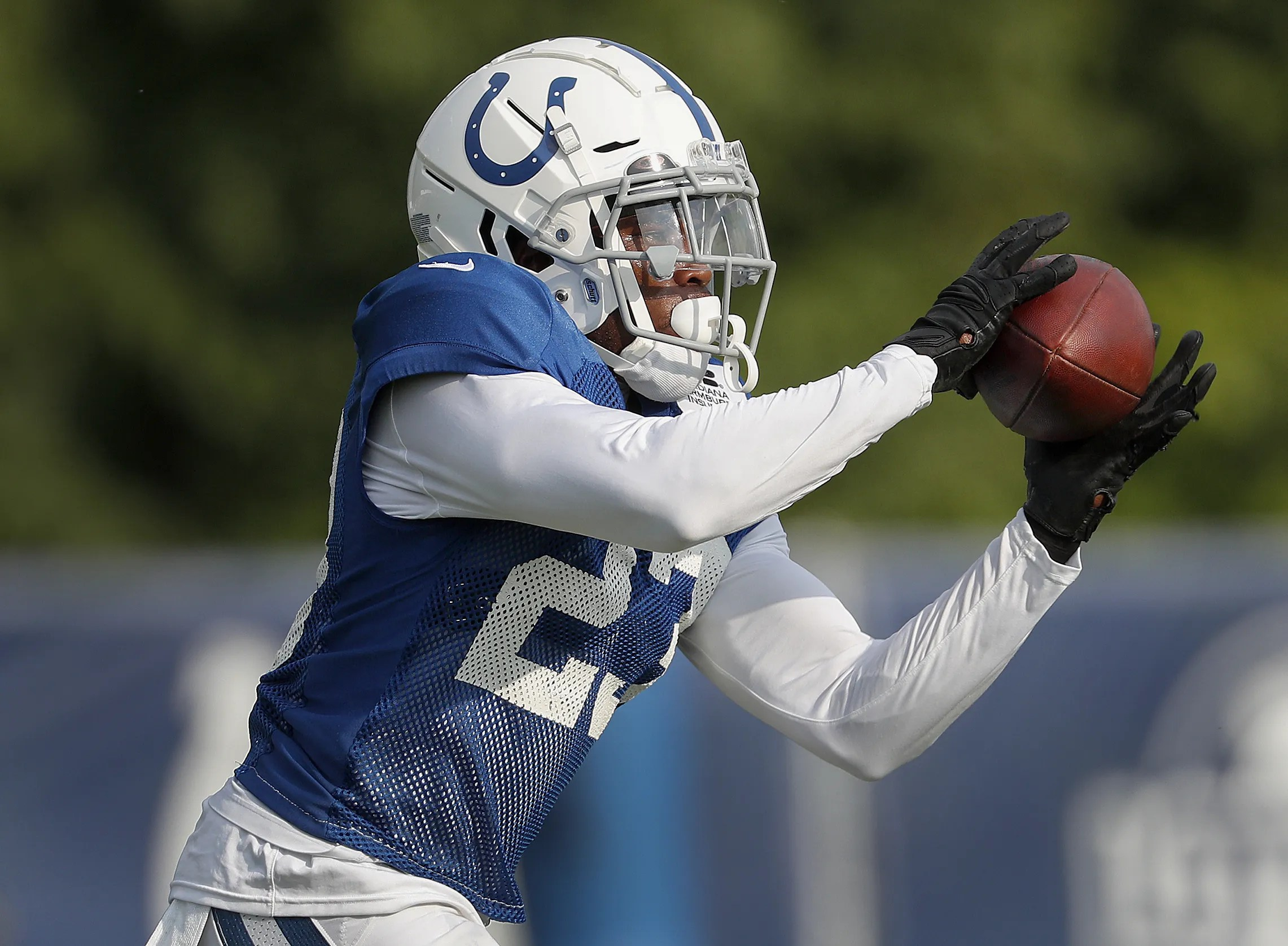 Indianapolis colts training camp at grand park in westfield also depth chart kemoko turay kenny moore listed as starters rh indystar
