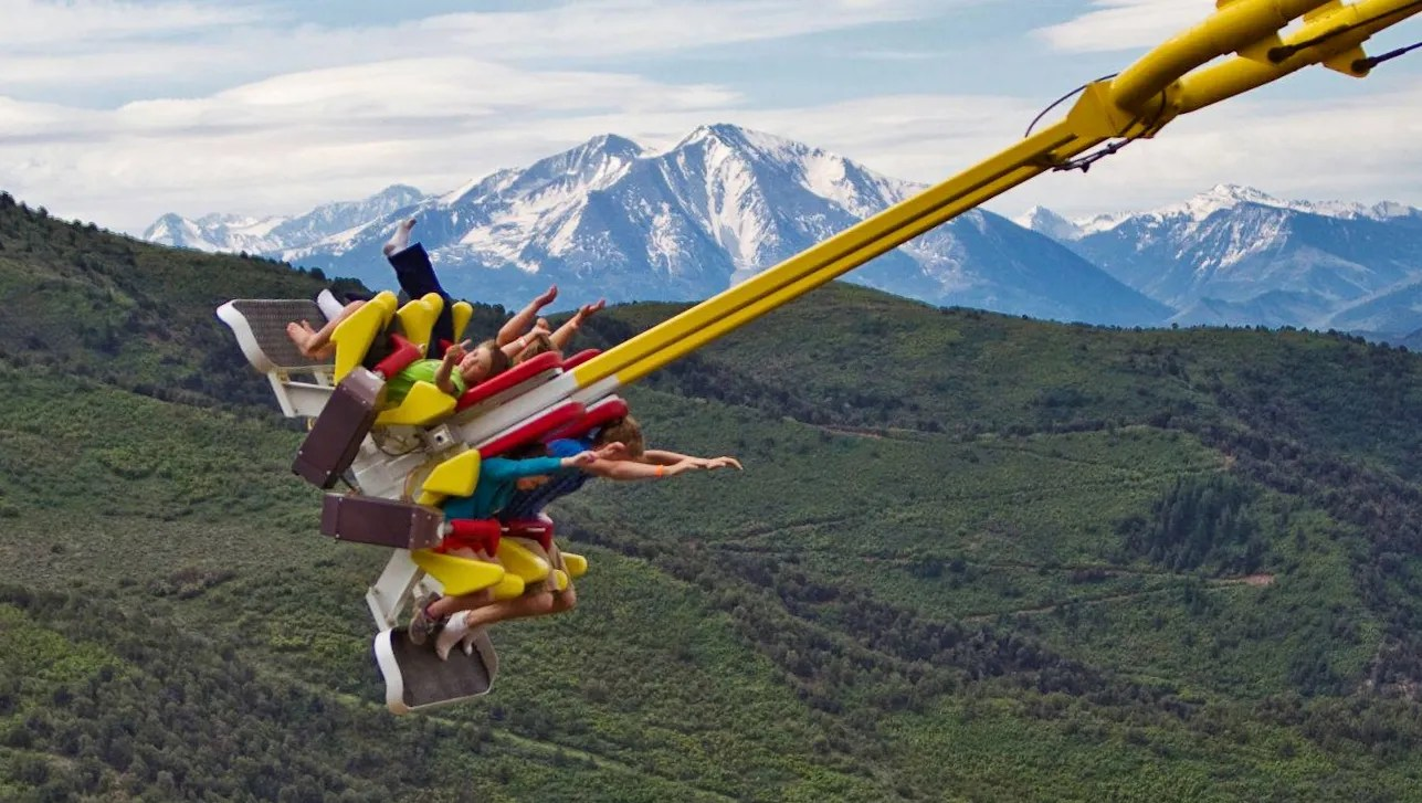 swing chair over canyon muuto nerd 10 most extreme theme park rides around the usa