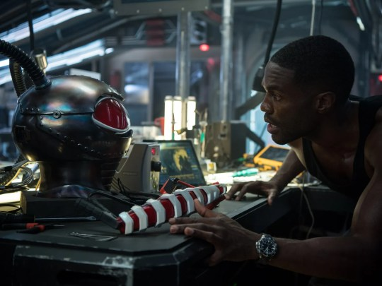 Black Manta (Yahya Abdul-Mateen II) is not the primary