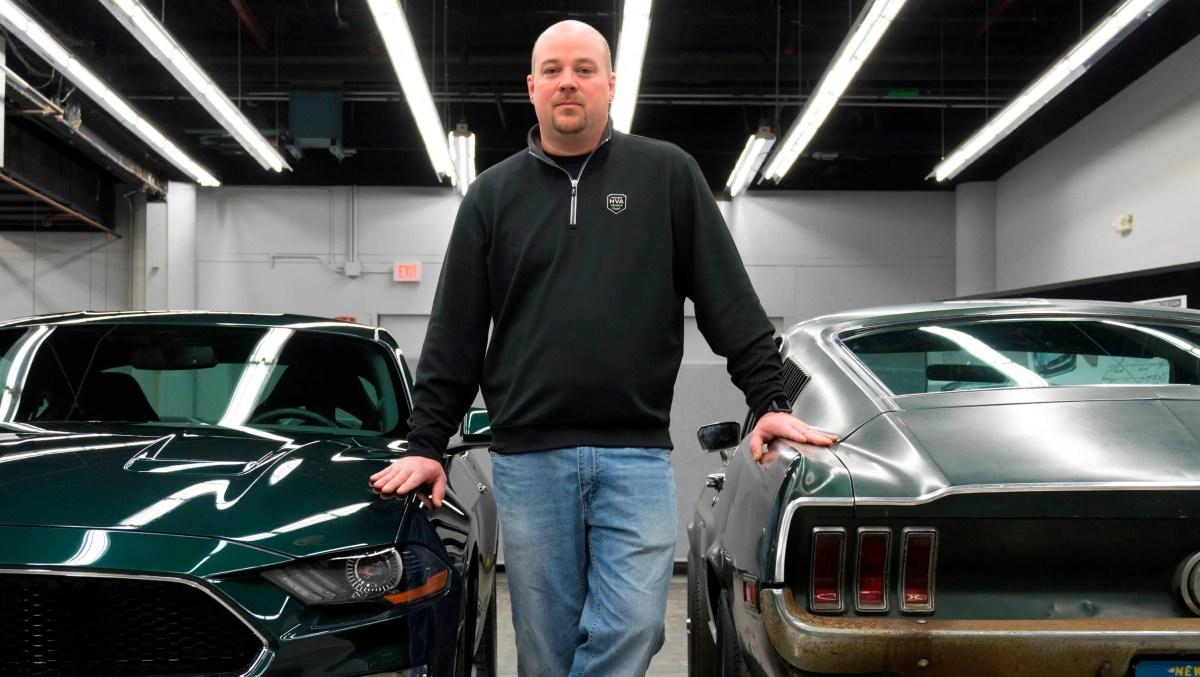 Sean Kiernan of Nashville, Tennessee, owns the car