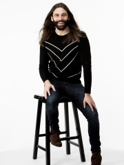 """Jonathan Van Ness, the hair and grooming expert from Netflix's """"Queer Eye"""" reboot attended the University of Arizona on a cheerleading scholarship before pursuing hairdressing."""