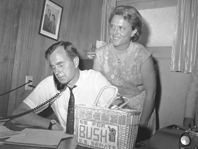 George And Barbara Bush A Love Story