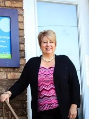 Lisa Farmer, executive director of Harmony House