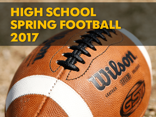 High school spring football 2017