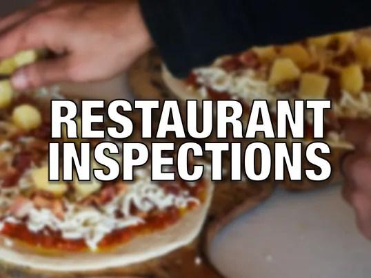 Local restaurant inspections  Nov 36