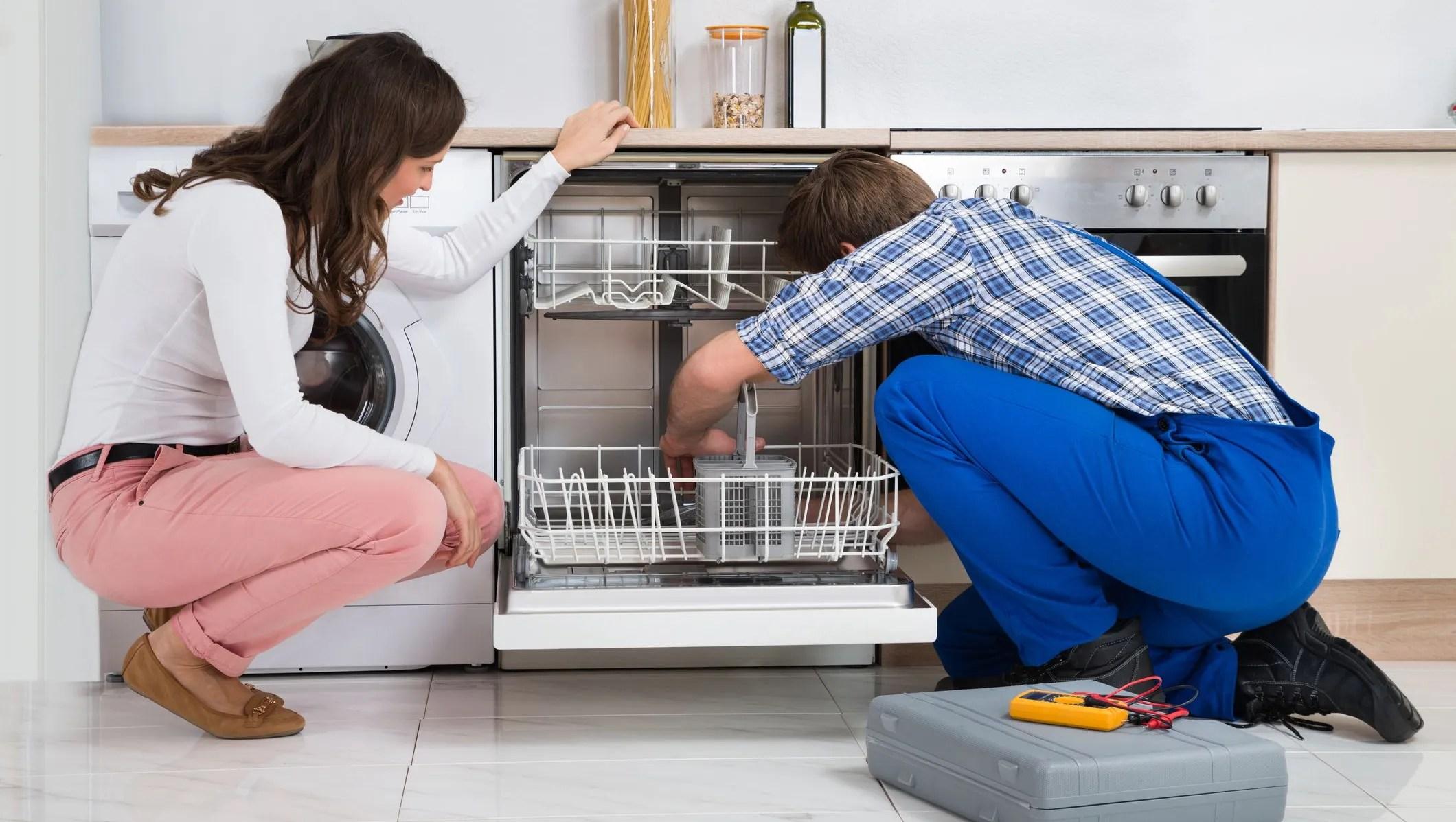 Broken appliance Consider repair rather than replace