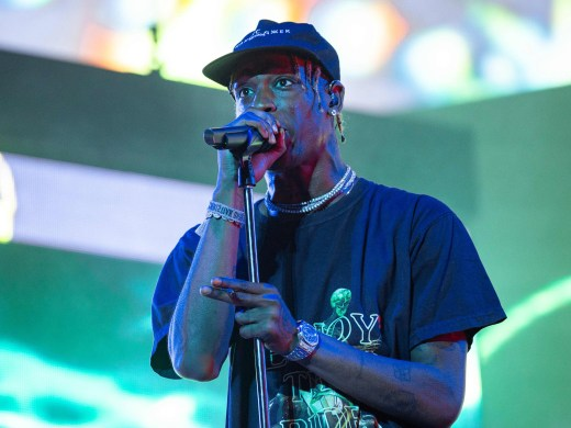 Rapper Travis Scott has also joined O'Rourke on the