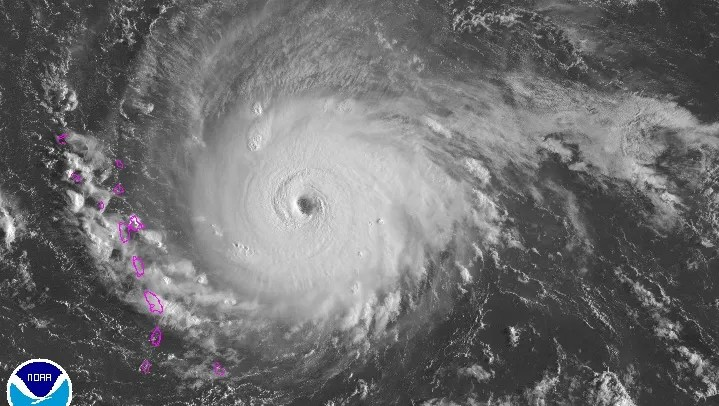 hurricane irma strengthens to