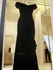 The White House dress on display in exhibit of 25 dresses