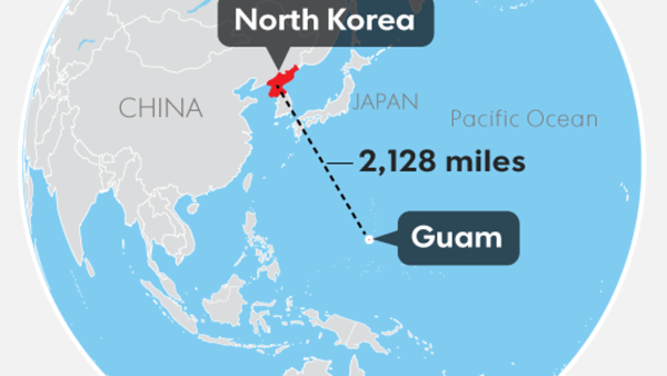 Guam under the gun from North Korea What we know now