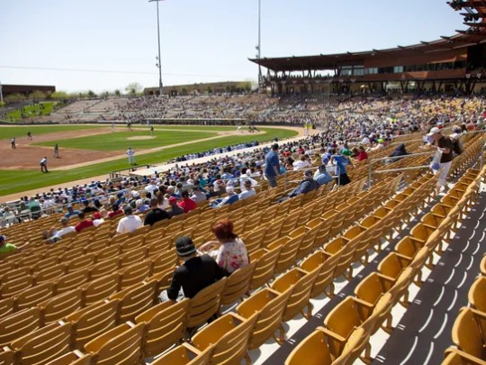 Camelback Ranch Glendale, host to the Los Angeles Dodgers