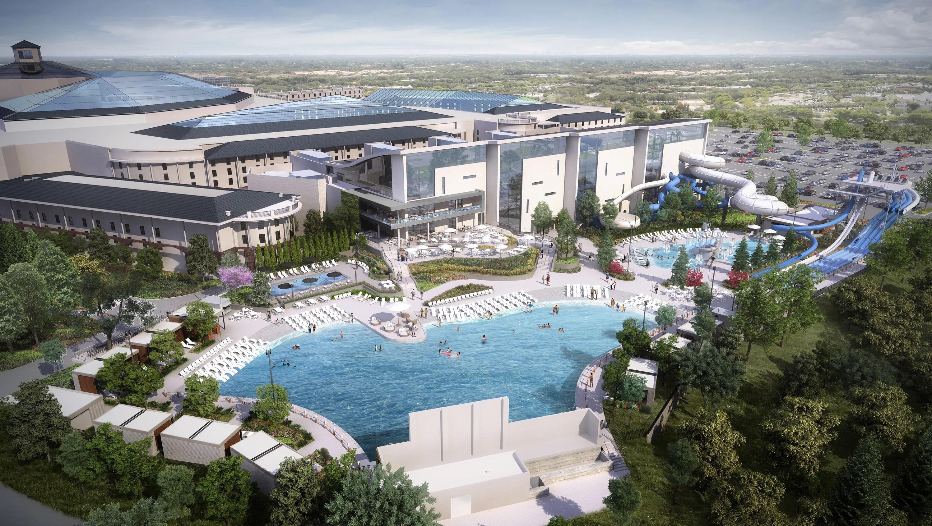 Opryland Resort Build 90m Water Park