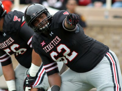 Texas Tech offensive tackle Le'Raven Clark