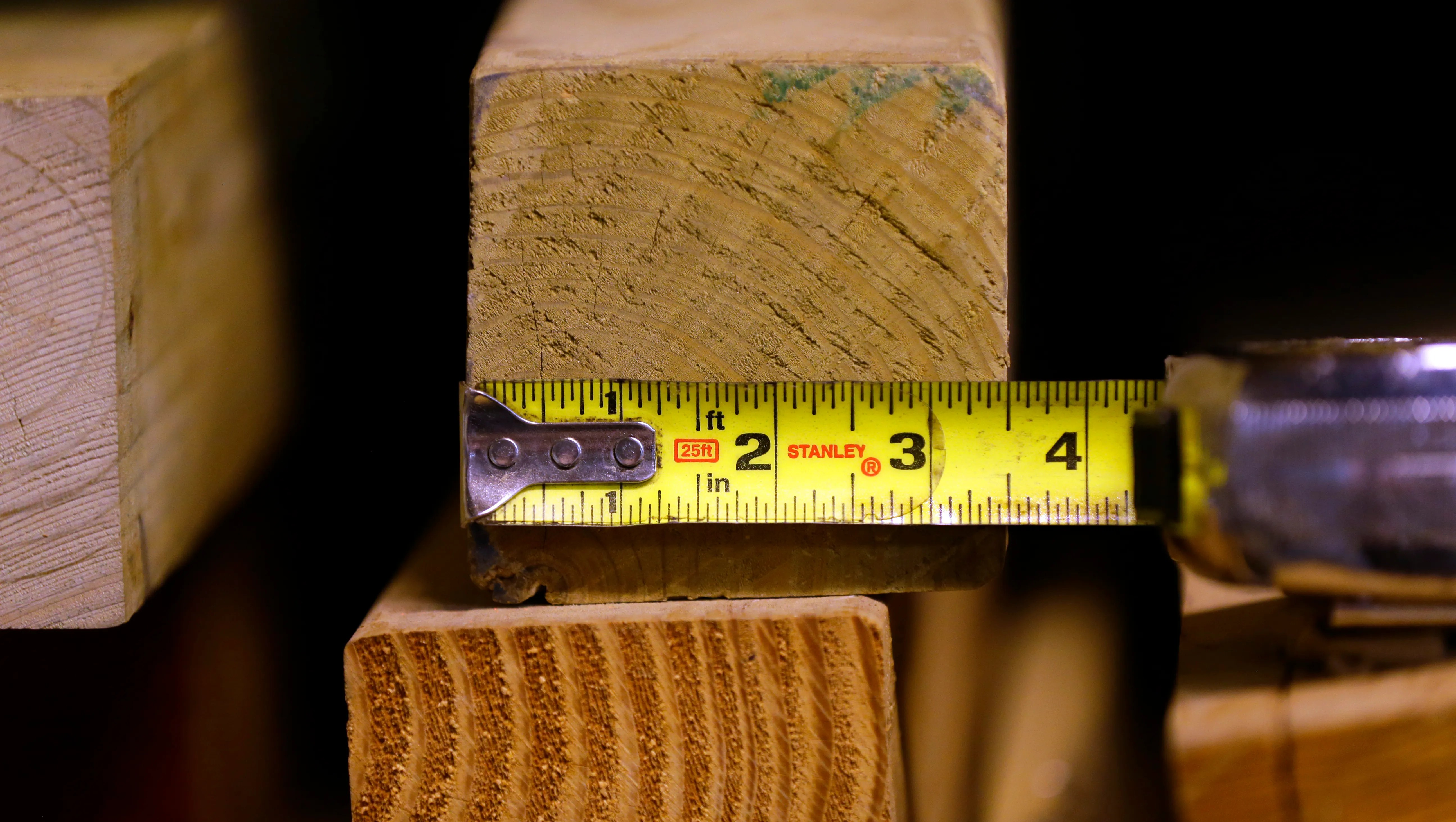 2×4 Actual Thickness