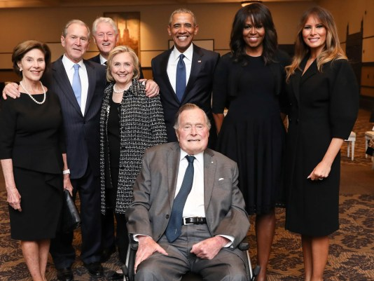 George H.W. Bush, the 41st U.S. president and father of the 43rd, has died at age 94