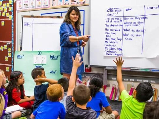 Jefferson Elementary School in Mesa was recently designated