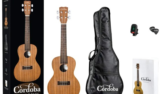 The Cordoba ukulele package is on sale!