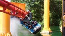 Cedar Point Iron Dragon Roller Coaster