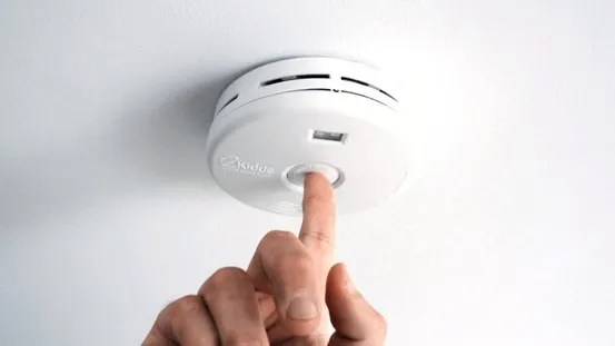kitchen smoke detector window pass through vermont man charged with using shotgun to silence is a the in his