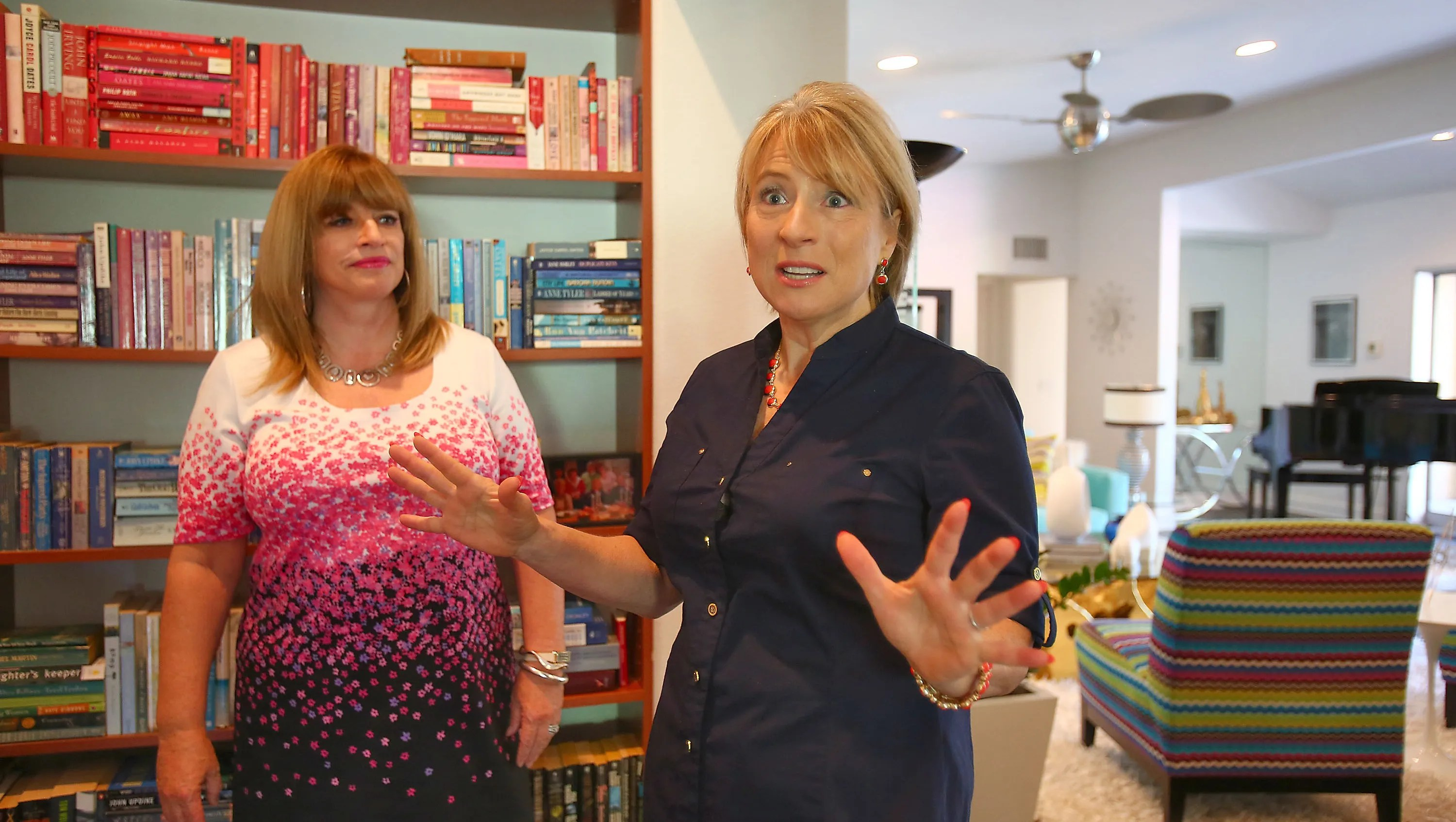 'hoarders' Star Helps Organize Palm Springs Client