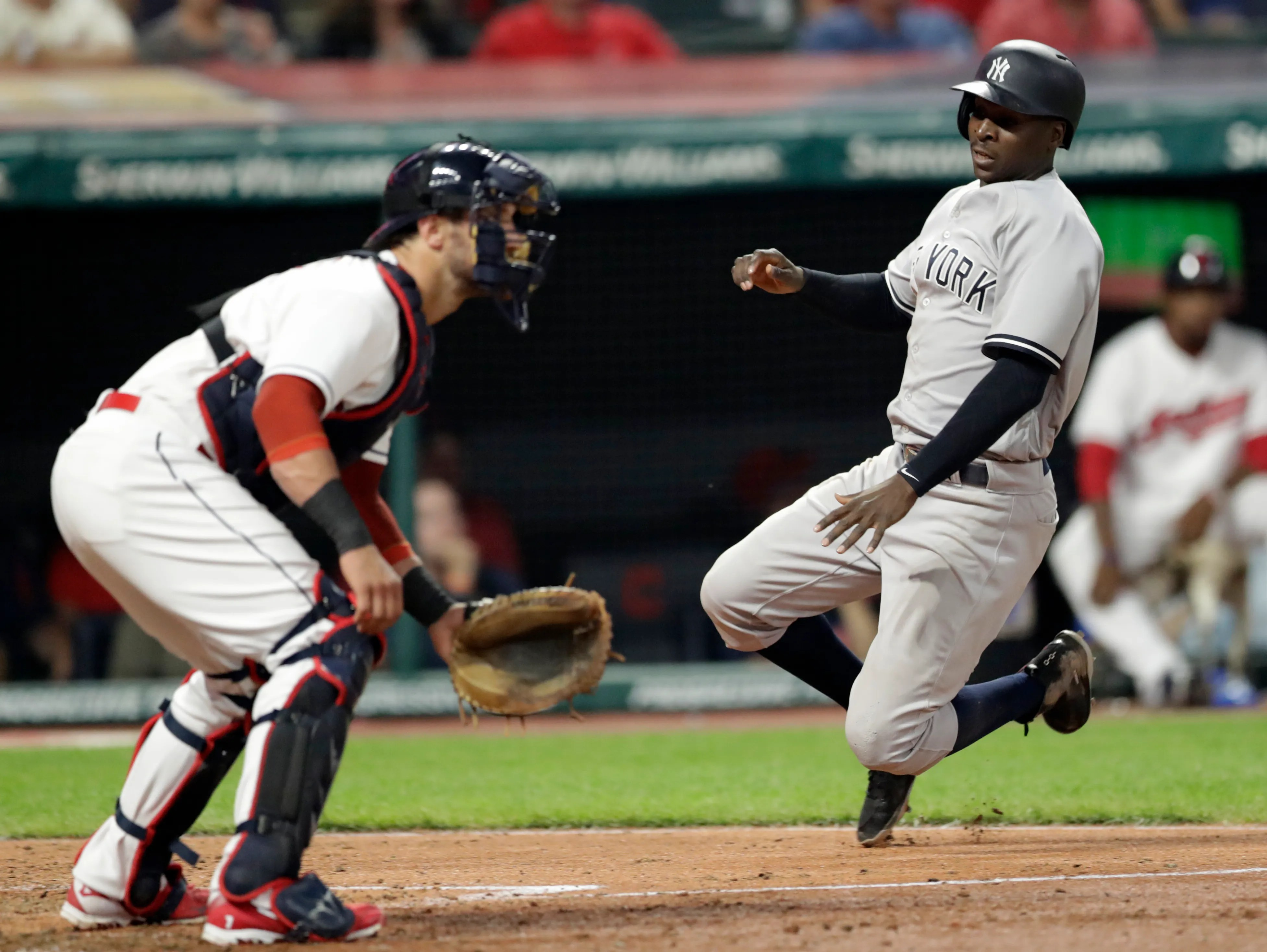 Ny Yankees Rough Up Corey Kluber Down Indians Behind