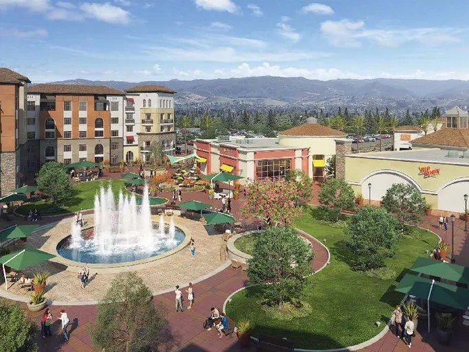 Simi Town Valley Center Map