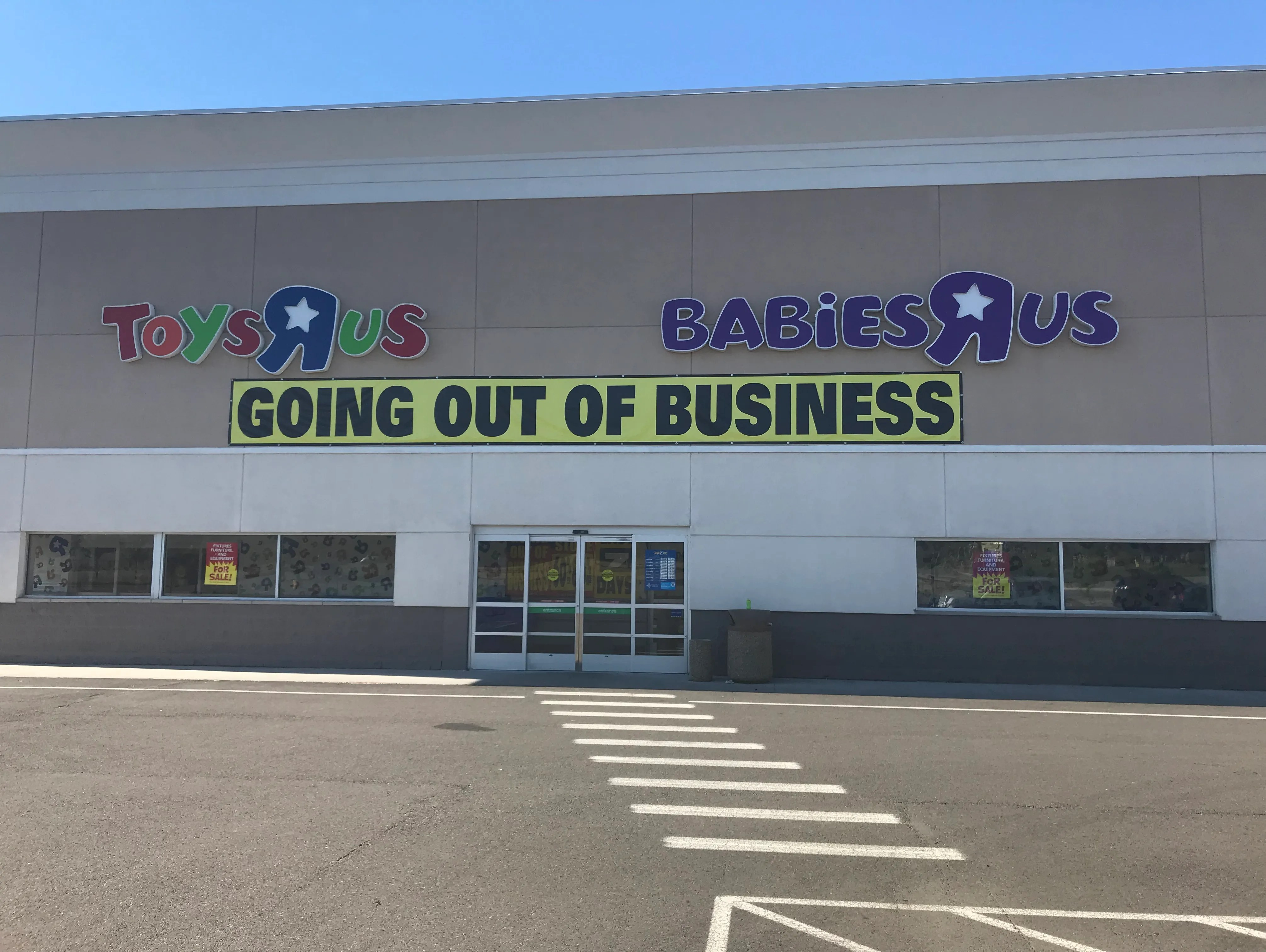 End Of An Era Toys R Us And Babies R Us Stores Now Closed