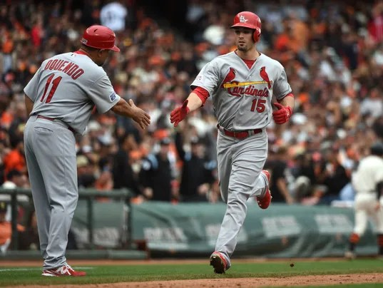 Image result for 2014 nlcs game 3 grichuk