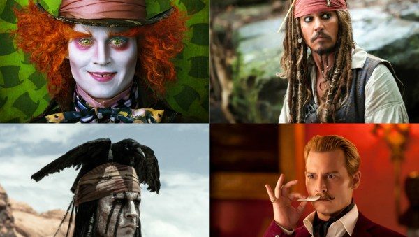 Mothership And Worst Johnny Depp Characters