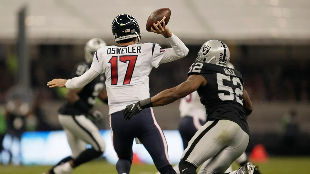 AFC wildcard preview Raiders vs Texans