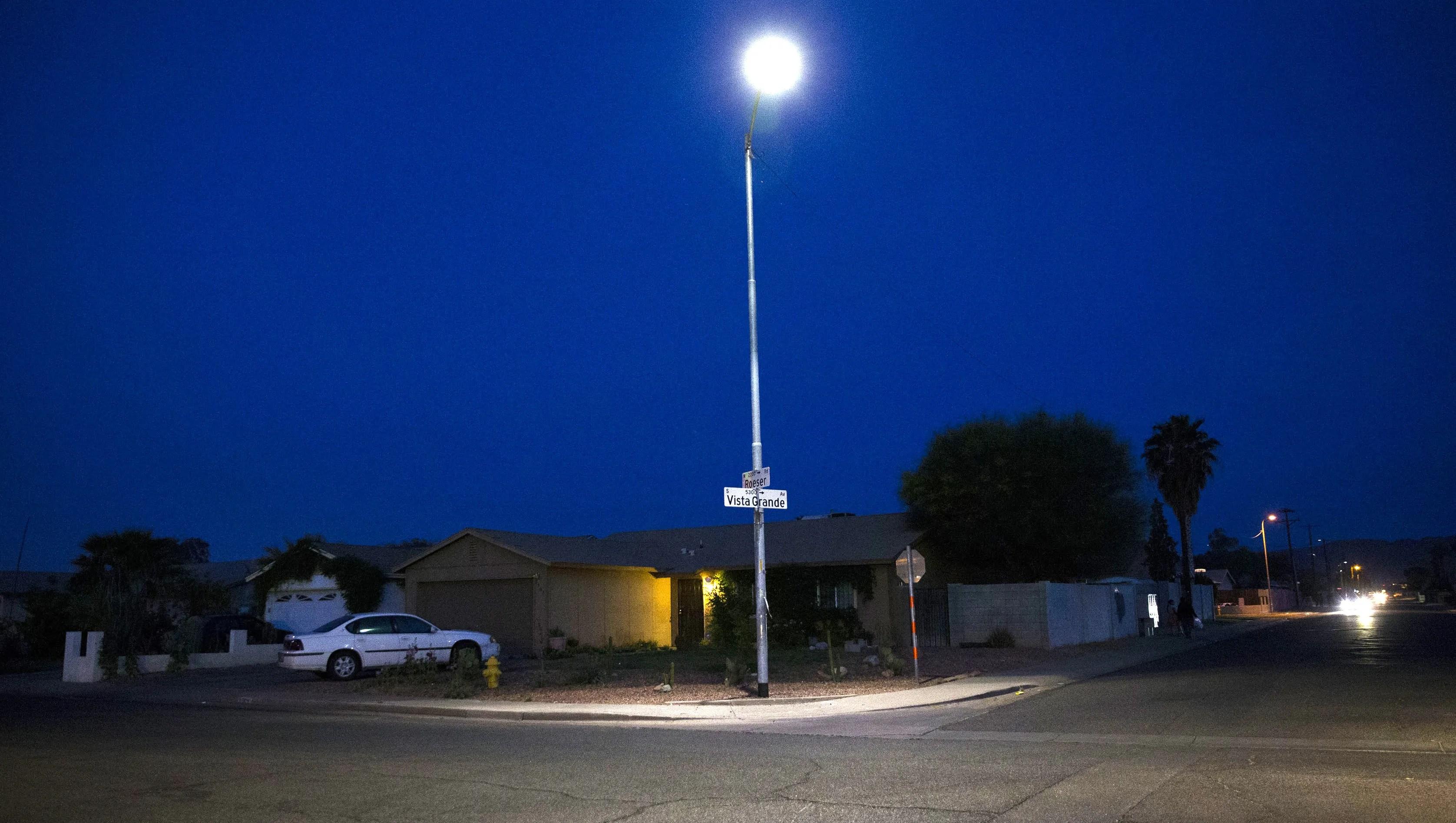 phoenix s led streetlights spark light