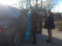 Karen Pence has BSU grad make inauguration gowns