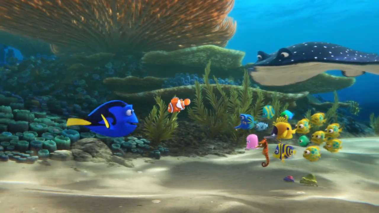 Cute Baby Hug Wallpapers Baby Dory Is Just One Of The Secret Stars Of Finding Dory