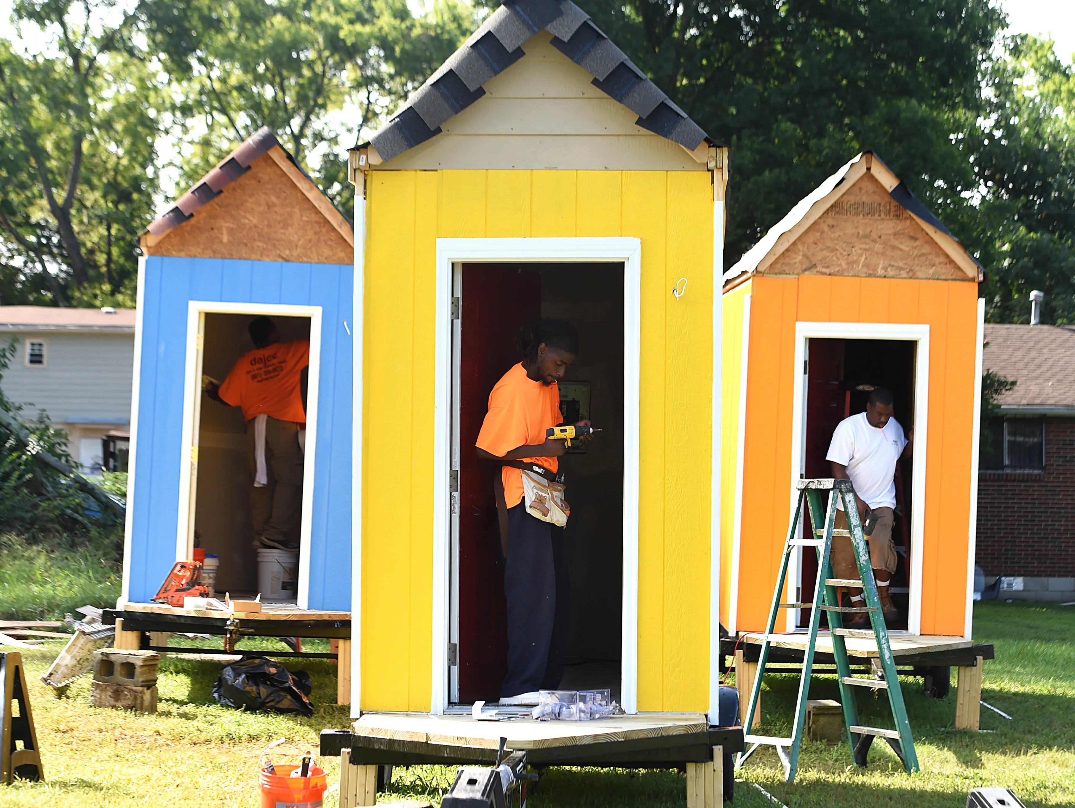 6 Micro Houses For Nashville Homeless Find Permanent Space