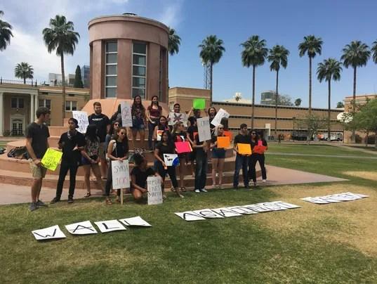ASU Tempe protest