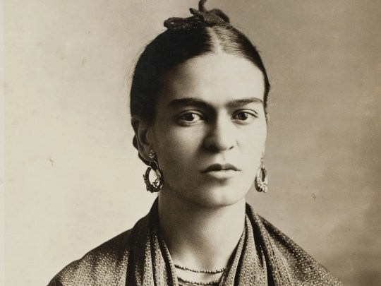 Frida Kahlo by Guillermo Kahlo, 1932. Part of the exhibit