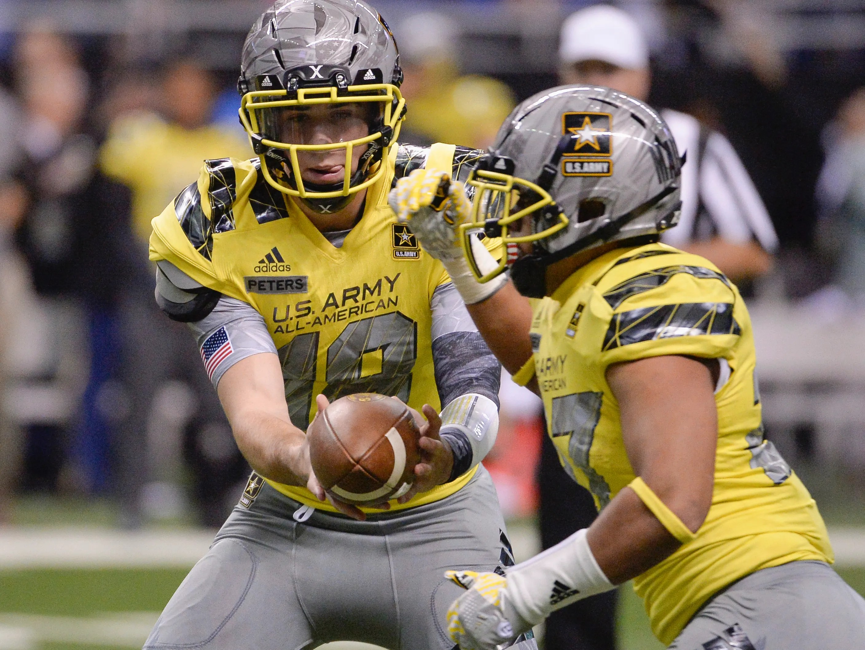 ... Army All American Bowl high school football game against the East